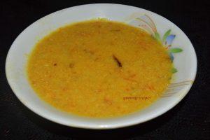 Parippu / Tur daal Curry