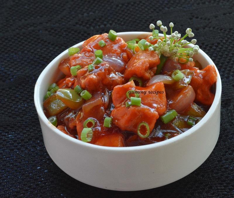 restaurent style chili chicken