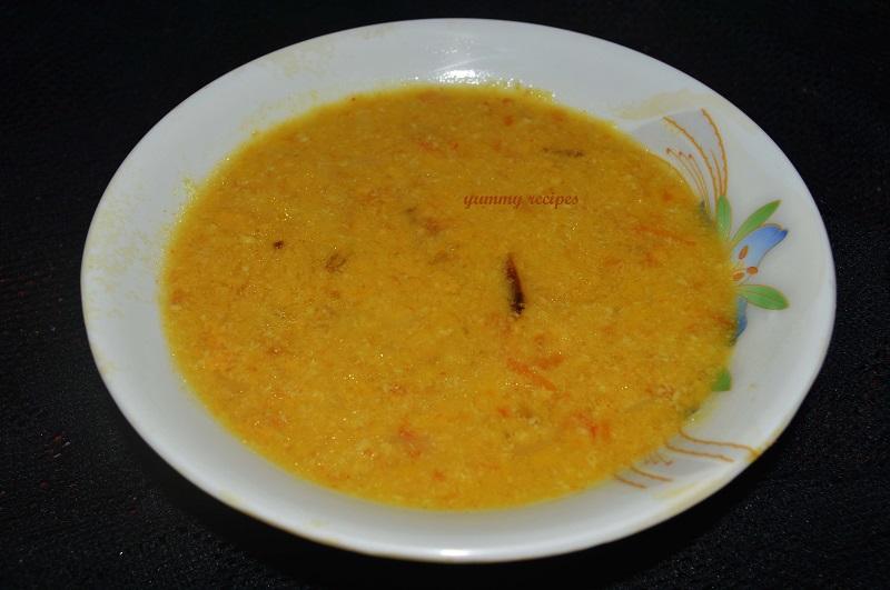 sadhya pappu curry