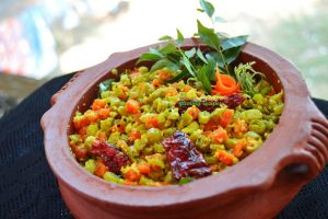 Beans carrot thoran