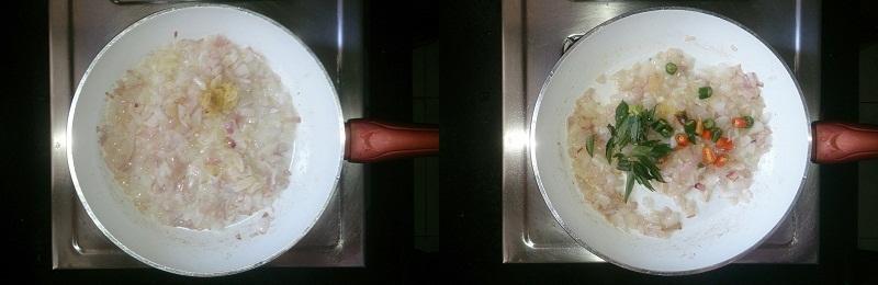Clams Pepper Roast - Kakka Irachi Kurumulaku Roast step 2