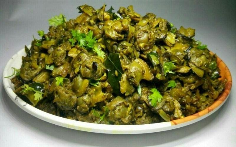Roasted Clams with Pepper - Kakka Irachi Kurumulaku Roast