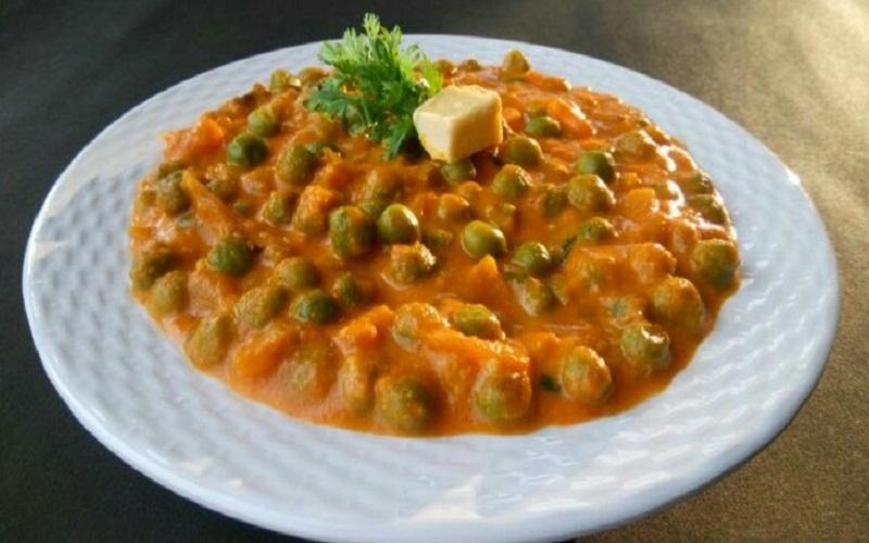 Green Peas Masala - North Indian Panjabi Style Recipe