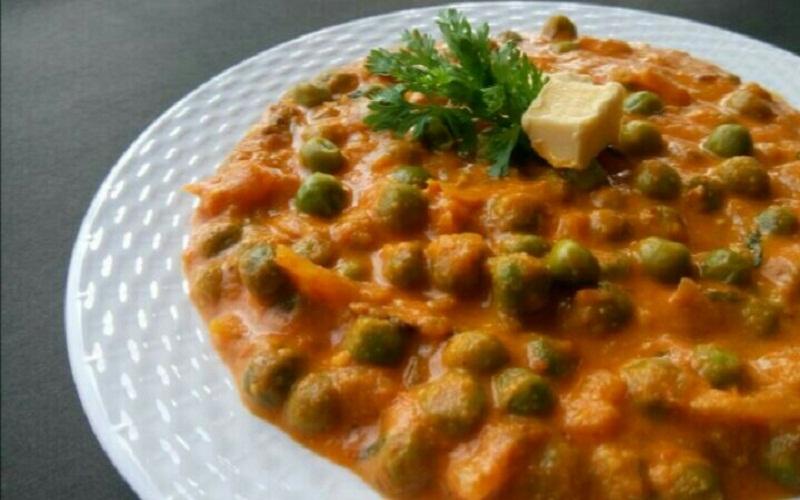 Green Peas Masala - North Indian Style Recipe