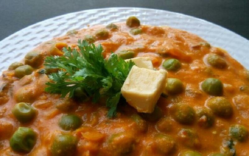 Green Peas Masala - Panjabi Style Recipe