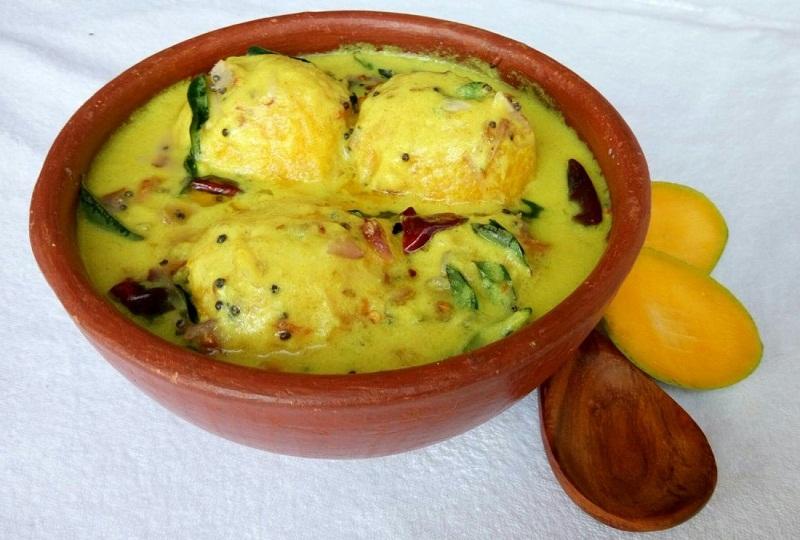 Kerala Sadhya Style Recipe of Mambazha Pulissery
