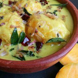 Mambazha Pulissery - Kerala Sadhya Style Recipe of Mambazha Pulissery