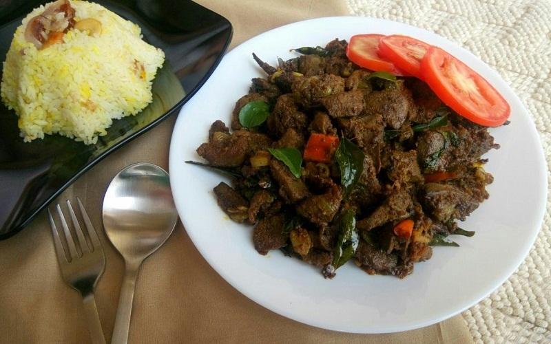 Mutton Liver Roast