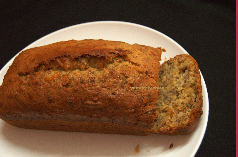 Eggless banana bread recipe yummy recipes banana bread forumfinder Choice Image