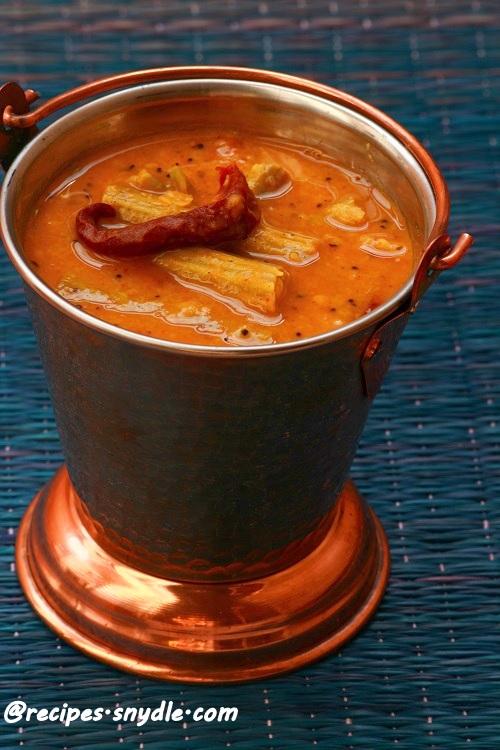 murungakkai sambar for sadya