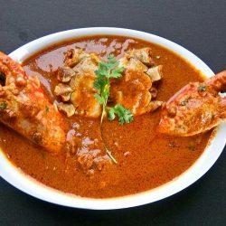 Goan Crab Curry - Crab Curry or Crab Masala