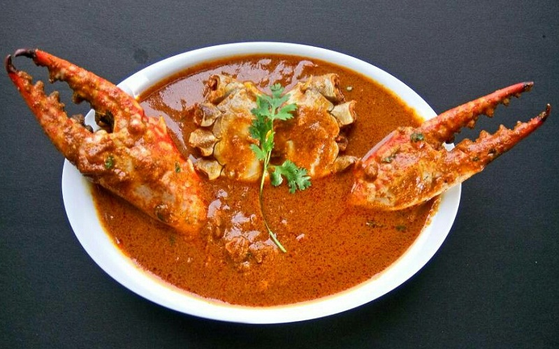 Goan Crab Curry - Crab Curry or Crab Masala