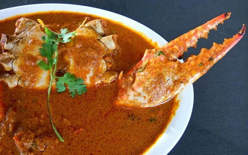 Goan Crab Curry or Crab Masala