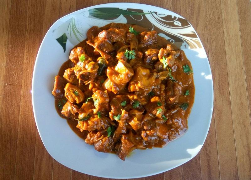 Mutton Mughlai - Shahi Mutton or Mughlai Mutton Curry Recipe