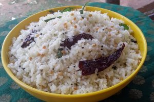 Coconut rice / two ways to make coconut rice