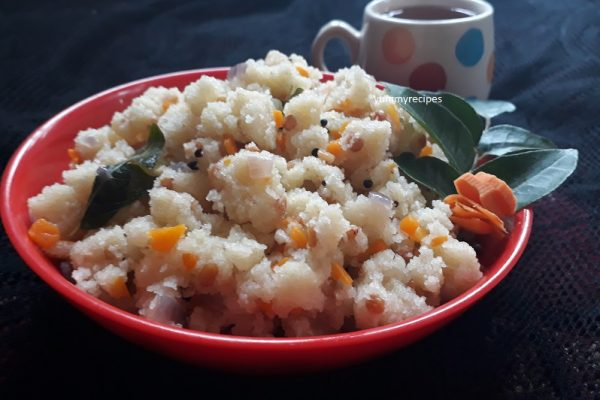 Rava upma / South Indian Breakfast Recipe