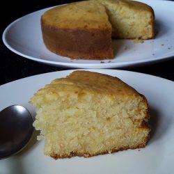 Sponge cake in pressure cooker / Eggless pressure cooker cake