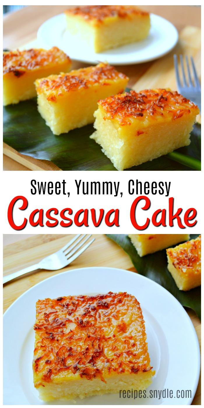 Pinoy Hapagkainan Cassava Cake Recipe