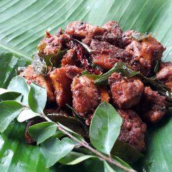 Chicken Perattu / Kozhi Perattu