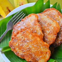 Maruya (Banana Fritters) Recipe