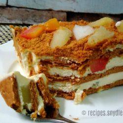 Fruit Cocktail Graham Icebox Cake