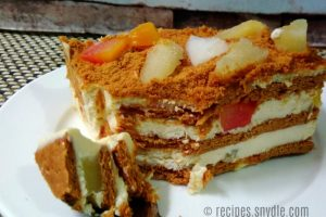 Fruit Cocktail Graham Icebox Cake