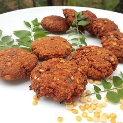 Parippu / Toor Dal Vada / Snacks Recipe