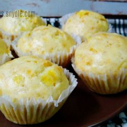 Steamed Banana Muffins