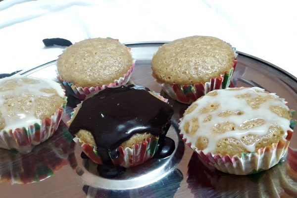 Cappuccino cup cake
