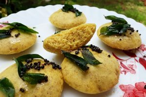 Idli Dhokla recipe / Simple breakfast recipe