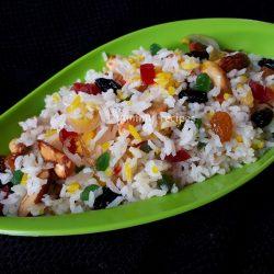 Kashmiri pulao / Sweet rice