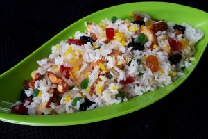 Kashmiri pulao / Sweet rice