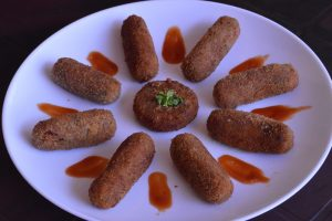 Vegetable cutlet / Snack recipe