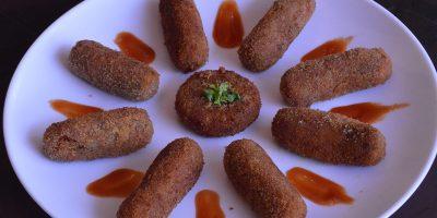 Vegetable cutlet / Snack recipe