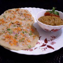 Oats Uthappam recipe/ Simple Break fast Recipe