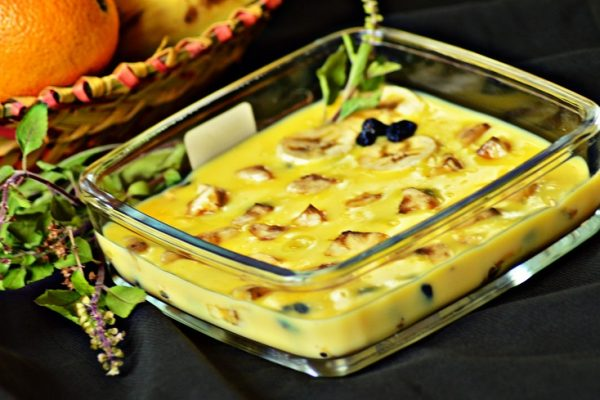 Banana Custard pudding / Simple Banana Pudding